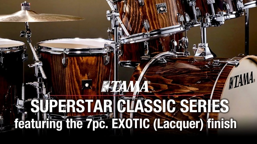 TAMA SUPERSTAR CLASSIC 7pc. EXOTIC (Lacquer) finish