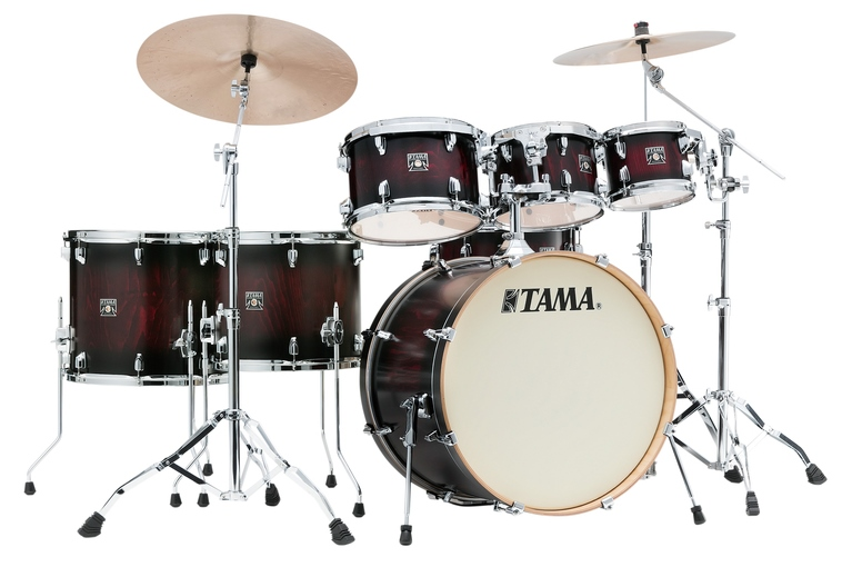 TAMA CL72RS-PGBP SUPERSTAR CLASSIC EXOTIX 7PC KIT FEATURING LACEBARK PINE OUTER PLY
