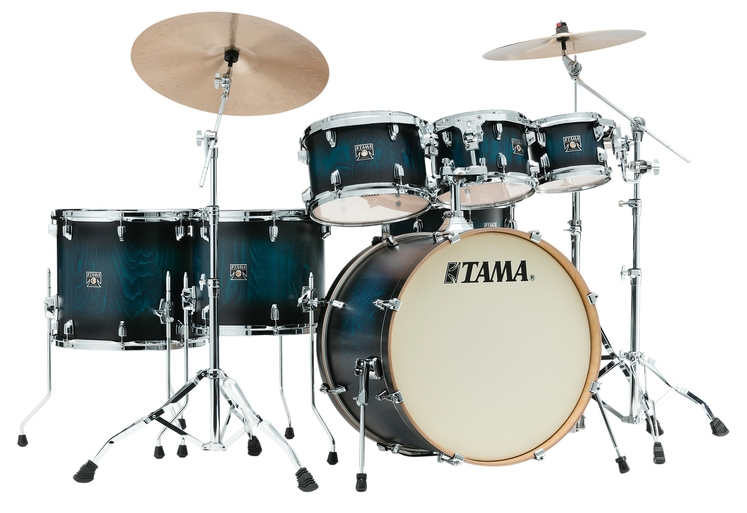 TAMA CL72RS-PSBP SUPERSTAR CLASSIC EXOTIX 7PC KIT FEATURING LACEBARK PINE OUTER PLY