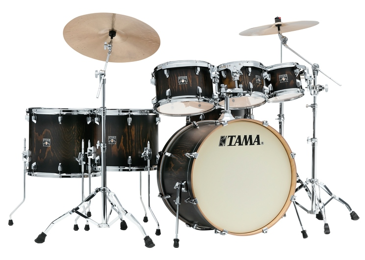 TAMA CL72RS-PJBP SUPERSTAR CLASSIC EXOTIX 7PC KIT FEATURING LACEBARK PINE OUTER PLY