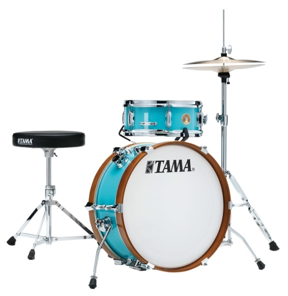 TAMA LJK28H4-AQB CLUB-JAM MINI COMPACT 2-piece DRUM KIT