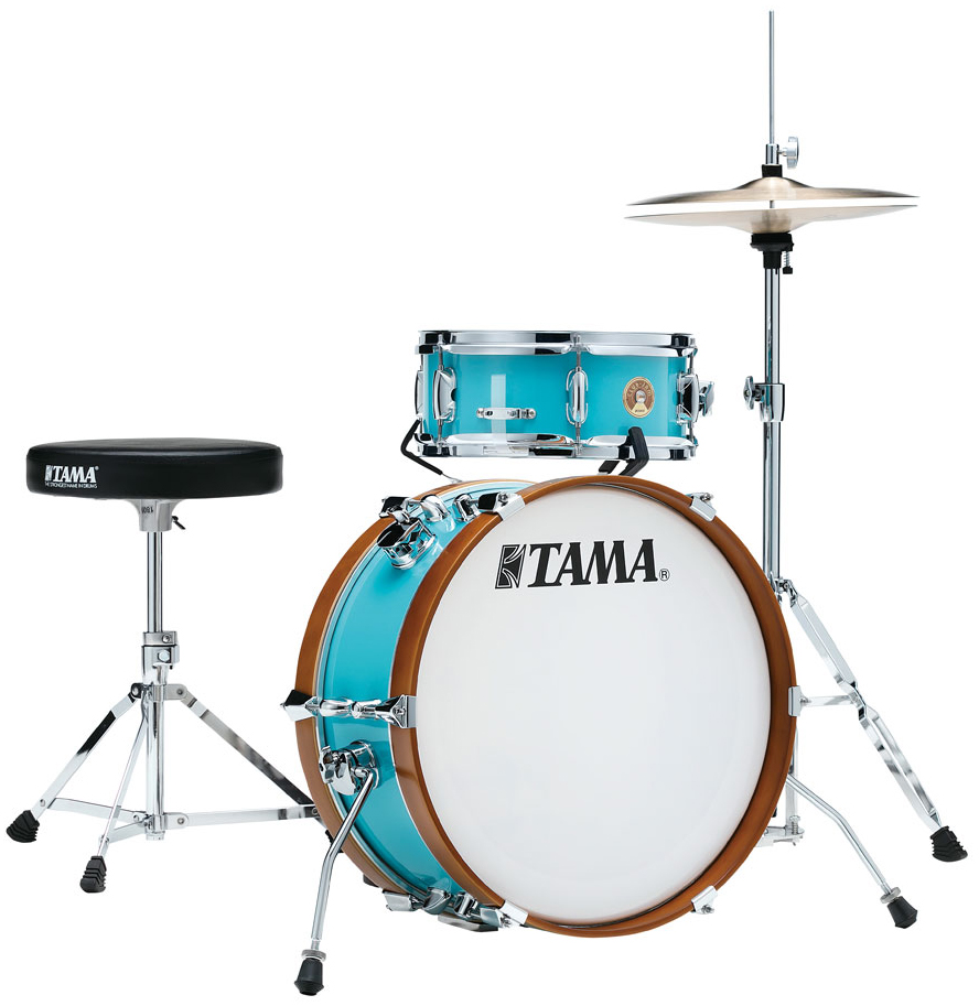 TAMA LJK28S-AQB CLUB-JAM MINI COMPACT 2-piece DRUM KIT