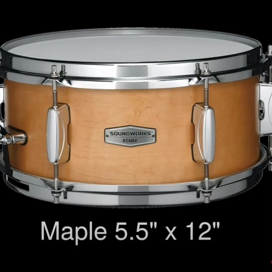 Малый барабан Tama DMP1255-MVM Soundworks Maple | A&T Trade