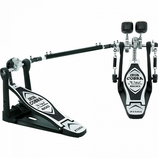 Педаль TAMA Iron Cobra Twin Pedal Duo Glide HP600DTW | A&T Trade